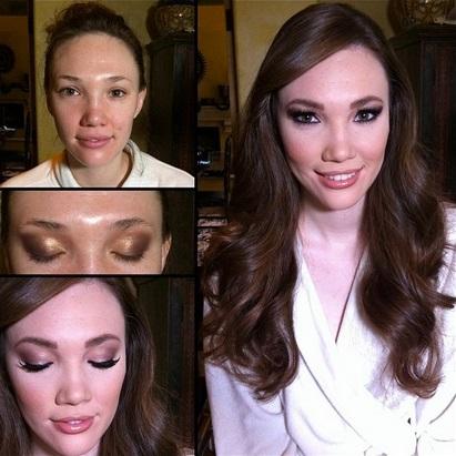 Aria Amor makeup