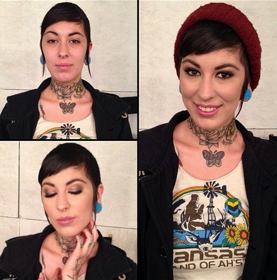 Aayla Secura no makeup