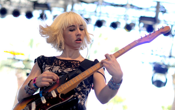 Finally a real artist; Ritzy Bryan (The Joy Formidable)