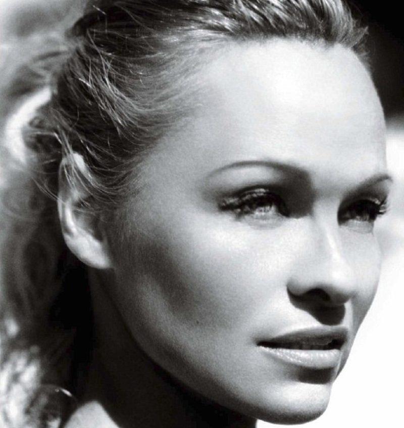 Pamela Anderson face